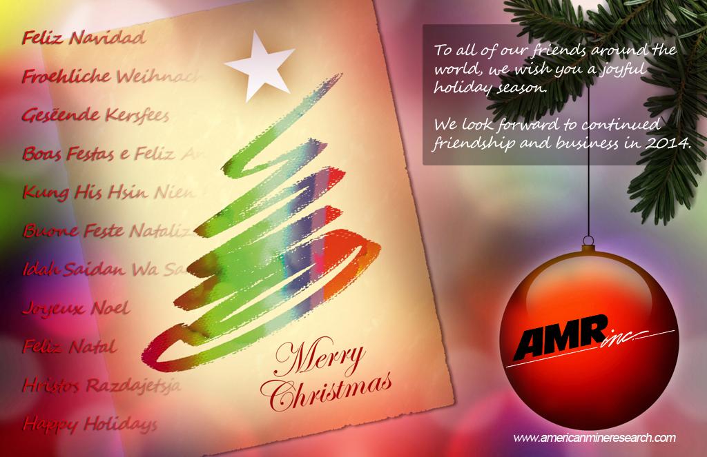 2013 AMR Christmas Greeting